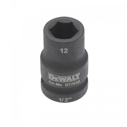 """Nástrčná hlavice EXTREME IMPACT 1/2"""" 18mm, krátká DeWALT DT7536"""