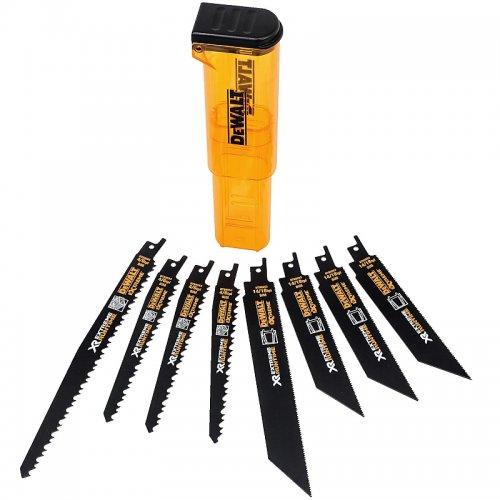 8-mi dílná sada plátků pro mečové pily DeWALT FLEXVOLT DT99551