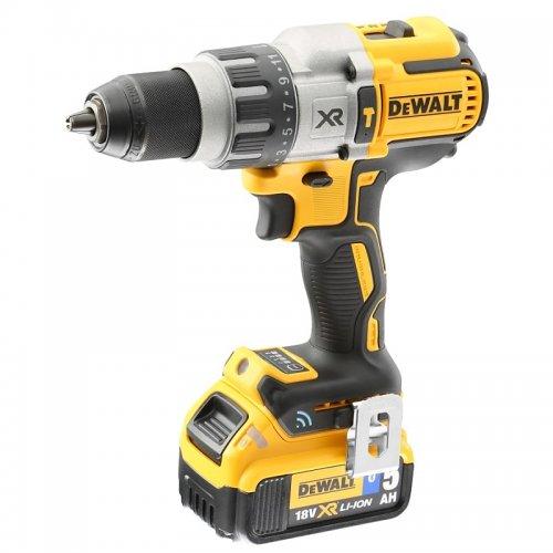 Aku příklepová vrtačka 2x5,0Ah 18V Tool Connect DeWALT DCD997P2B