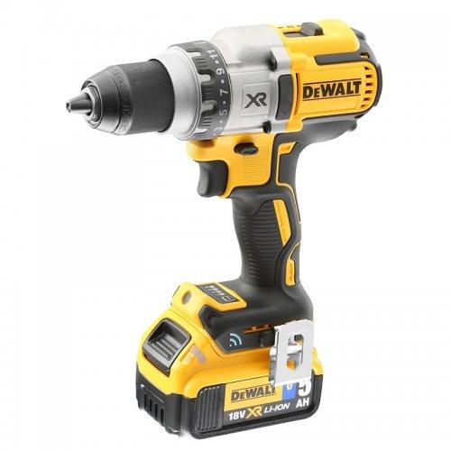 Aku třírychlostní vrtačka 2x5,0Ah 18V Tool Connect DeWALT DCD992P2B