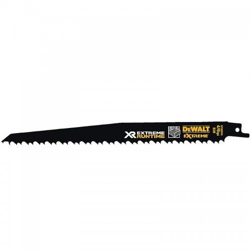 Pilový plátek demoliční na dřevo s hřebíky pro mečové pily 230mm 5ks DeWALT FLEXVOLT DT99555