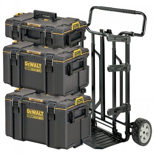 Set kufrů TOUGHSYSTEM 2.0 DSTROLLEY DeWALT DWST83401-1