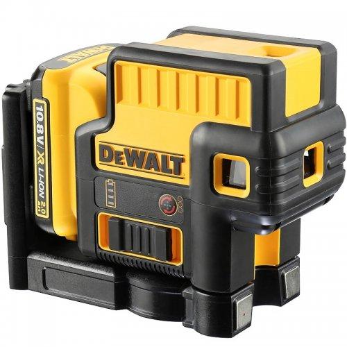 Pětibodový laser 1x2,0Ah 10,8V DeWALT DCE085D1R