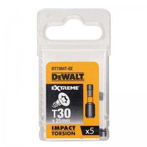 Sada Torsion bitů T30x25mm 5ks DeWALT DT7384T
