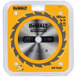Pilový kotouč 165x20mm, 18 zubů pro rychlé řezy DeWALT DT1933