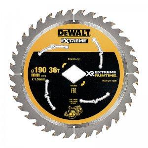 Pilový kotouč 190mm, 36 zubů pro aku pily DeWALT DT40271