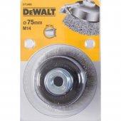 Drátěný kartáč talířový vlnité dráty délka 23mm průměr 75mm pro úhlové brusky DeWALT DT3488