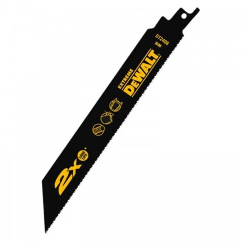 Pilový plátek na kov, armatury, trubky a profily rychlý řez pro mečové pily 203mm 5ks DeWALT DT2408
