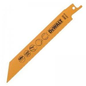 Pilový plátek na kov, plech, trubky a profily 3-8mm pro mečové pily 152mm 5ks DeWALT DT2361