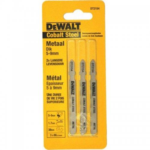 Pilový plátek Extreme na kovy od 6mm, ocel 3-5mm pro přímočaré pily 76mm 3ks DeWALT DT2154