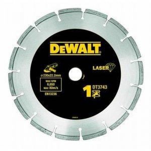 Dia kotouč Laser 1 na stavební materiály a beton 230x22,2mm DeWALT DT3743