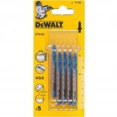 Pilový plátek na tenký kov 0,8-2mm přímý řez pro přímočaré pily 76mm 5ks DeWALT DT2162