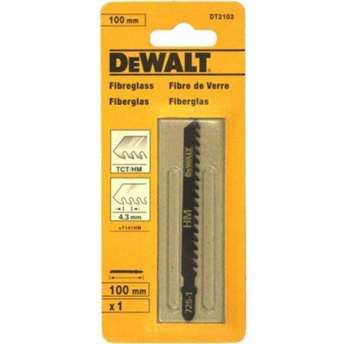 Pilový list na materiály zesílené skelnými vlákny pro přímočaré pily 100mm DeWALT DT2103