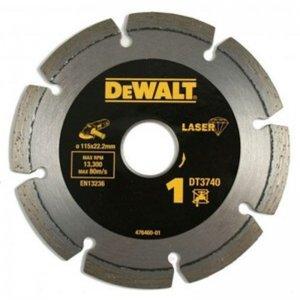 Dia kotouč Laser 1 na stavební materiály a beton 115x22,2mm DeWALT DT3740