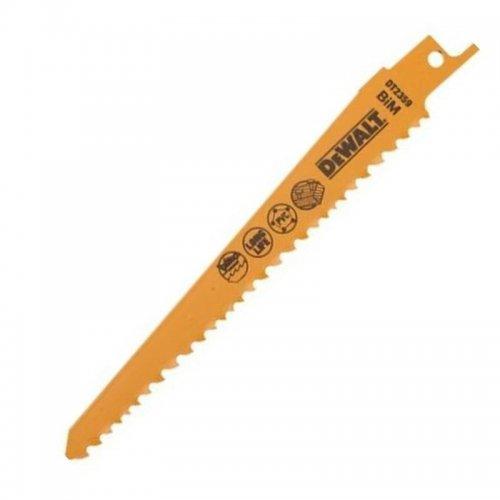 Pilový plátek na dřevo s hřebíky rychlý řez pro mečové pily 152mm 5ks DeWALT DT2359