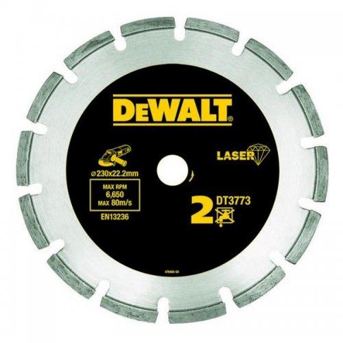Dia kotouč Laser 2 na abrazivní materiály a beton 230x22,2mm DeWALT DT3773