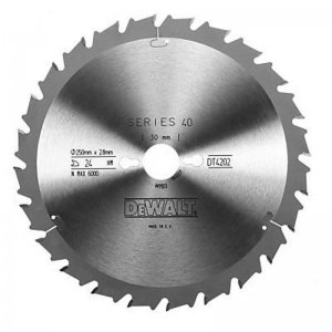 Pilový kotouč 250x30mm 24z FT/DL 10° DeWALT DT4202