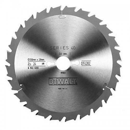 Pilový kotouč 250x30mm 24z FT/DL 10° DeWALT DT4202