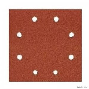 Brusný papír suchý zip 115x115mm P 60 10ks DeWALT DT3021