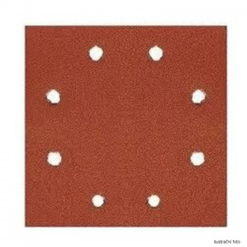 Brusný papír suchý zip 115x115mm P 80 25ks DeWALT DT3032