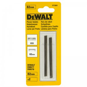 HSS hoblovací nože 82mm pro DW680/D26500 DeWALT DT3905
