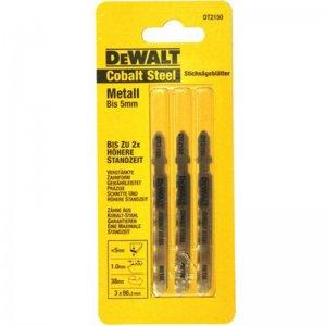Pilový plátek Extreme na kovy do 3mm pro přímočaré pily 86mm 3ks DeWALT DT2150