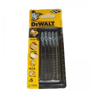 Pilový plátek na laminát do 40mm extra čistý řez pro přímočaré pily 100mm 5ks DeWALT DT2207