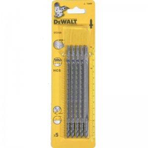 Pilový plátek na dřevo do 100mm přímý řez pro přímočaré pily 152mm 5ks DeWALT DT2169