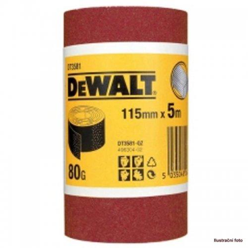Role brusného papíru 5m x 93mm P 120 DeWALT DT3592