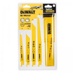 12-ti dílná sada pilových plátků na dřevo a kov DeWALT DT2441