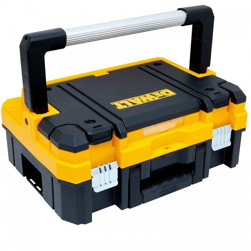 Box na nářadí s kovovou rukojetí 11l TSTAK Box I DeWALT DWST1-70704