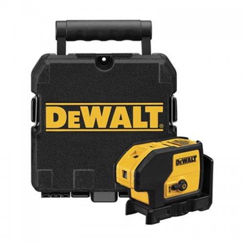 Laserový měřič s 5-ti bodovým a jedním čárovým paprskem DeWALT DW0851