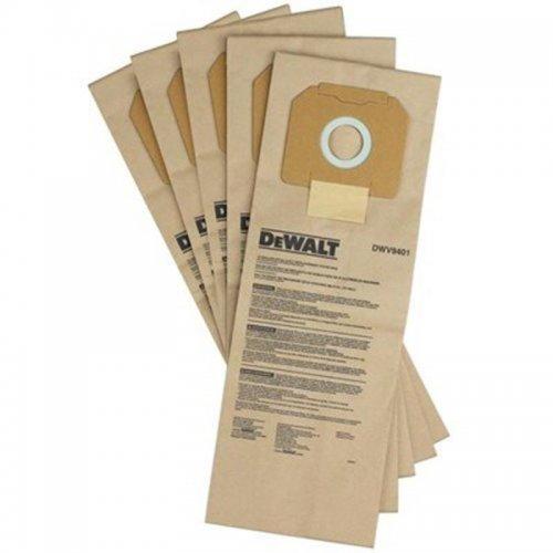 Papírový pytlík na prach 5ks pro vysavač DWV902L/M DeWALT DWV9401