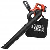 Aku zahradní vysavač a fukar Black&Decker GWC3600L20