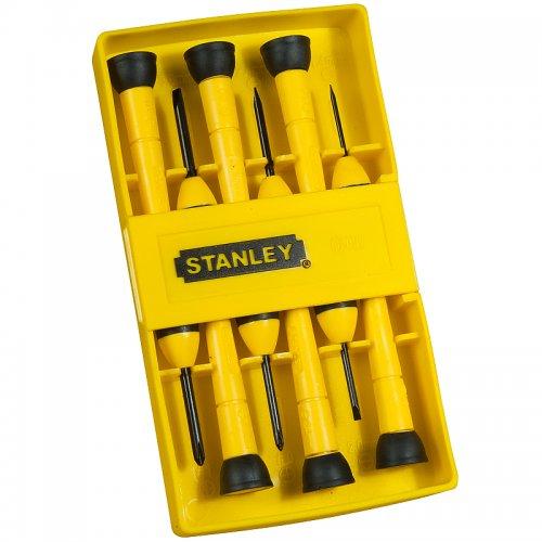 6-ti dílná sada přesných šroubováků Stanley 0-66-052