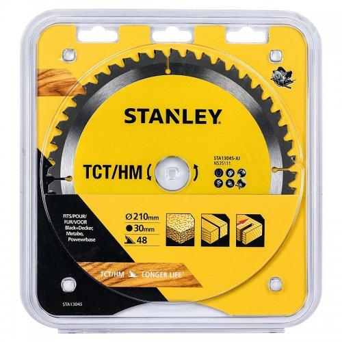 Pilový kotouč TCT/HM pro příčné řezy 210 x 30 mm, 48 zubů Stanley STA13045