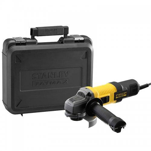 Úhlová bruska 115mm Stanley FatMax FMEG210K