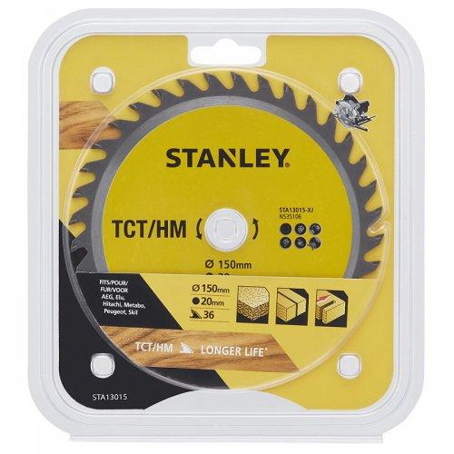 Pilový kotouč TCT/HM pro příčné řezy 150 x 20 mm, 36 zubů Stanley STA13015