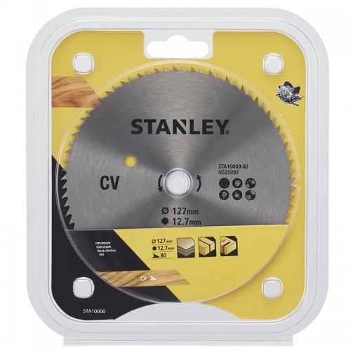 Pilový kotouč pro příčné řezy 127 x 12,7 mm, 80 zubů Stanley STA10000