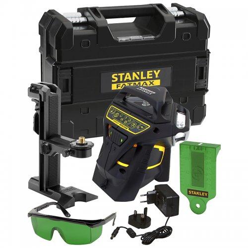 Linkový laser 3x360° se zeleným paprskem STANLEY FMHT1-77356