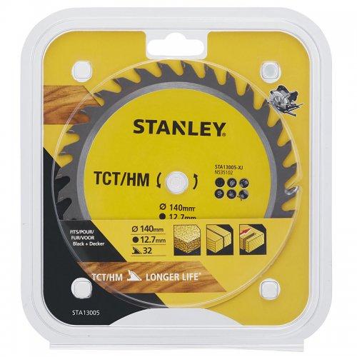 Pilový kotouč TCT/HM pro příčné řezy 140 x 12,7 mm, 32 zubů Stanley STA13005