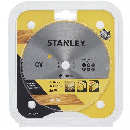 Pilový kotouč pro příčné řezy 140 x 12,7 mm, 100 zubů Stanley STA10080