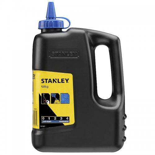 Prášková křída modrá 1000g Stanley 1-47-917