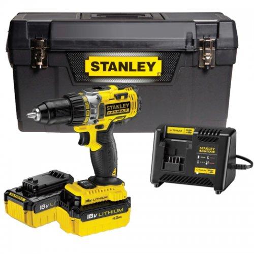 Aku vrtačka 18V 2x4,0Ah Stanley FatMax FMC600M2P