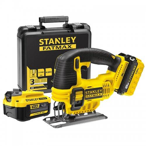 Aku přímočará pila 18V 2x2,0Ah Stanley FatMax FMC650M2