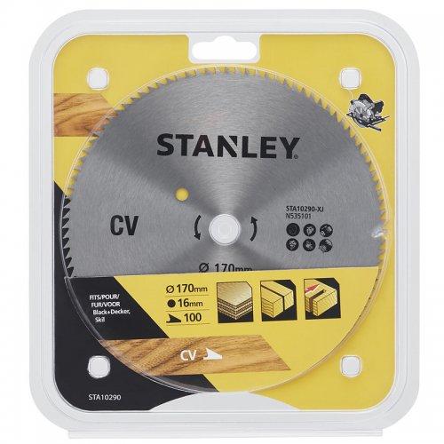 Pilový kotouč pro příčné řezy 170 x 16 mm, 100 zubů Stanley STA10290