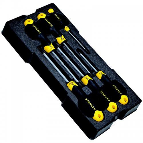 6dílná sada šroubováků Torx v modulu Stanley STMT1-74182